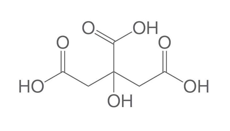 فرمول شیمیایی اسید سیتریک