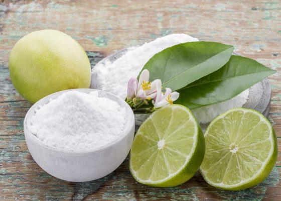 پاک کردن با اسید سیتریک