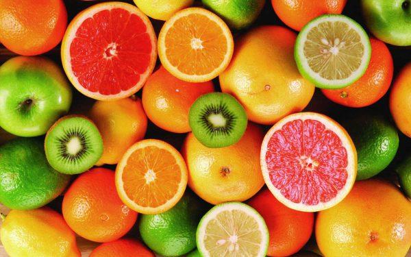 مواد غذایی حاوی اسید سیتریک